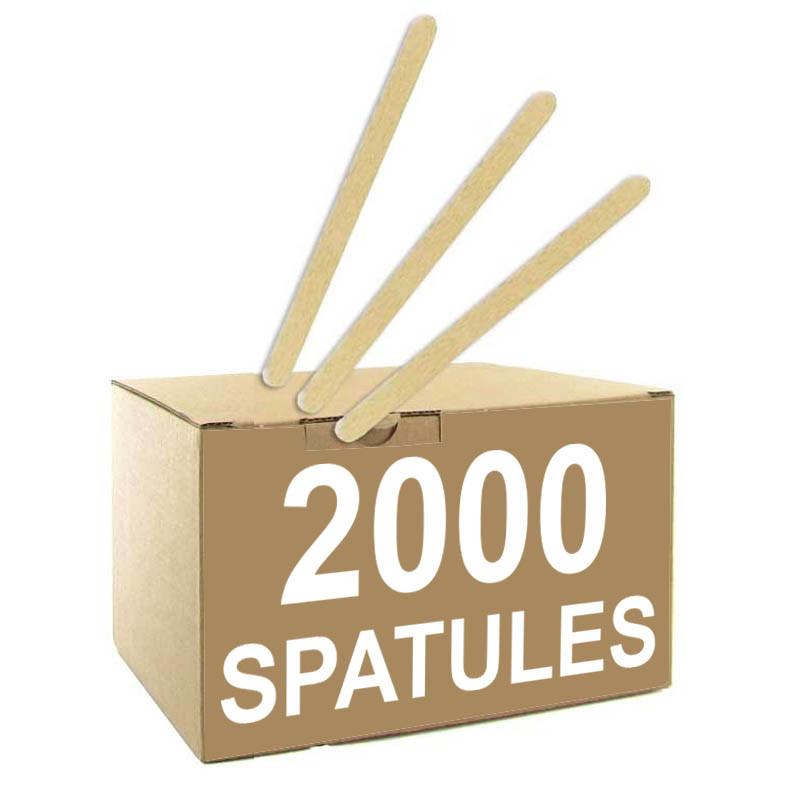 Spatule Distributeur Automatique en Bois Biodégradable 105 mm - par 2000... par LeGuide.com Publicité