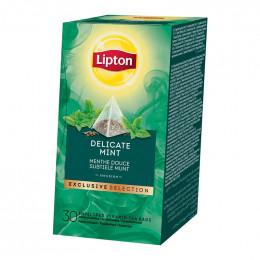 Infusion Lipton Exclusive Sélection Menthe Douce : 30 pyramides