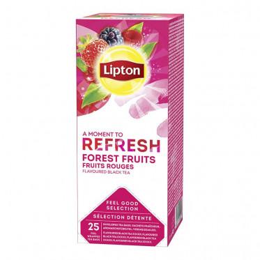 Thé Lipton Fruits Rouges 25 sachets