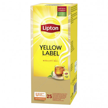 Thé Lipton Thé Yellow Label Tea 25 sachets