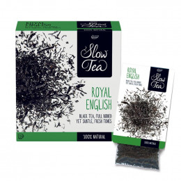 Thé Noir Royal English - Slow Tea - 25 sachets