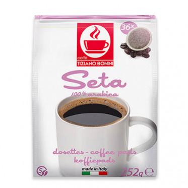 Dosette compatible Senseo Caffè Bonini - Seta - 36 dosettes