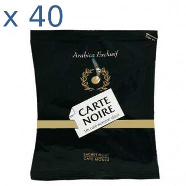 Café Moulu Carte Noire en dose de 80g - par 40