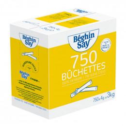 Bûchettes de sucre blanc Béghin-Say - 750 buchettes - 3 kg