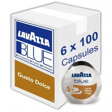 Capsule Lavazza Blue Caffè Crema Gusto Dolce 600 Capsules