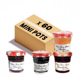 Confiture Bonne Maman - Coffret 4 parfums - Premium - 60x 30g