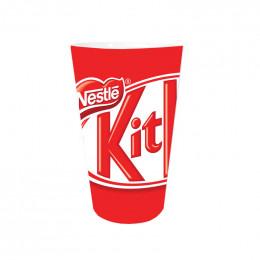 Gobelet réutilisable 15 cl - Modèle Nestlé KitKat - par 5