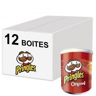 Biscuits Apéritif - Pringles Original 40g - 12 boîtes