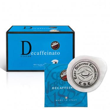 Dosette café ESE Caffe Vergnano 1882 - Decaffeinato - 18 pods