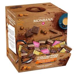 Biscuit Chocolat Monabana Accompagnement café Collection Automne - Hiver 300 Pièces