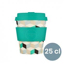 Mug en Bambou écologique, avec couvercle - Ecoffee Cup Frescher - 25 cl