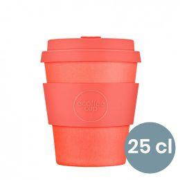 Mug en Bambou écologique, avec couvercle - Ecoffee Cup Mrs Mills - 25 cl