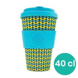 Mug en Bambou écologique, avec couvercle - Ecoffee Cup Norweaven - 40 cl