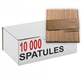Touillette (spatule) en bois de hêtre 103 mm - par 10000