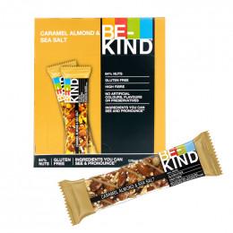 Barre de céréales : Be-Kind Caramel Almond & Sea Salt - x 12