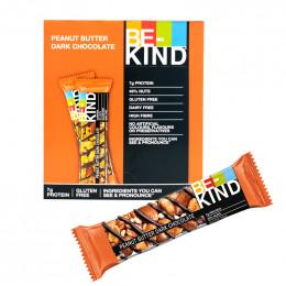 Barre de céréales : Be-Kind Peanut Butter Dark Chocolate - x 12
