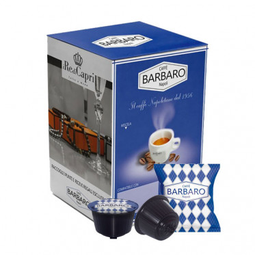 Capsules compatible Dolce Gusto - Barbaro - Cremoso - 100 capsules (emballage individuel)