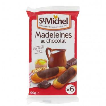 Biscuit : St Michel Madeleines longues chocolat - par 6