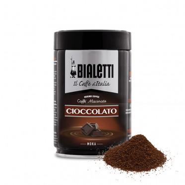 Café Moulu Bialetti - Café chocolat Cioccolato - Boite hermétique - 250 gr