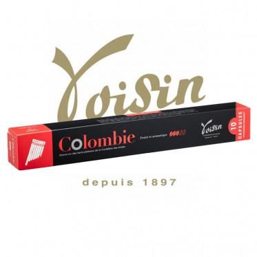 Capsules Nespresso Compatibles - Voisin - Colombie - 1 tube - 10 capsules