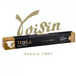 Capsules Nespresso Compatibles - Voisin - Moka - 1 tube - 10 capsules