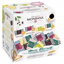 Boite Distributrice Monbana - Mix Biscuits - 200 pièces