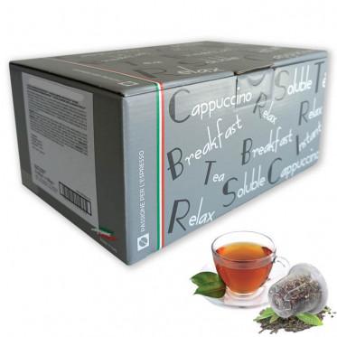 Capsule Nespresso Compatible Thé English Breakfast - Caffè Bonini - 1 boite - 10 capsules