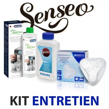 Kit entretien Machine à café SENSEO - Nettoyage, détartrage, filtre à eau