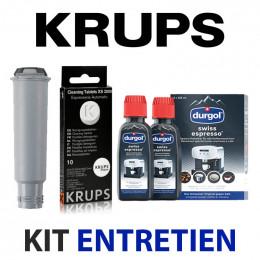 Kit entretien Machine à café NESPRESSO - Nettoyage, détartrage, filtre à eau