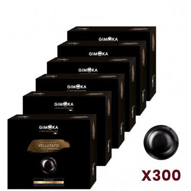Capsule Nespresso PRO Compatible Gimoka Vellutato - 6 boites - 300 capsules