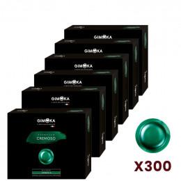 Capsule Nespresso PRO compatible Gimoka Cremoso - 6 boite - 300 capsules