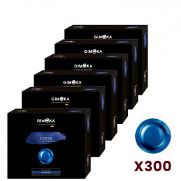 Capsule Nespresso PRO Compatible Gimoka Déca Soave - 300 Capsules