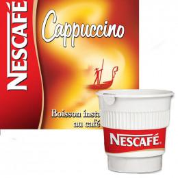 Café Gobelets Pré-dosés Nescafé Cappuccino - 20 boissons