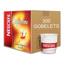 Café Gobelets Pré-dosés au carton Nescafé Cappuccino