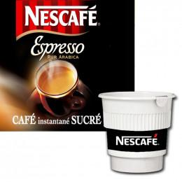 Café Gobelets Pré-dosés Nescafé Espresso Sucré - 20 Boissons