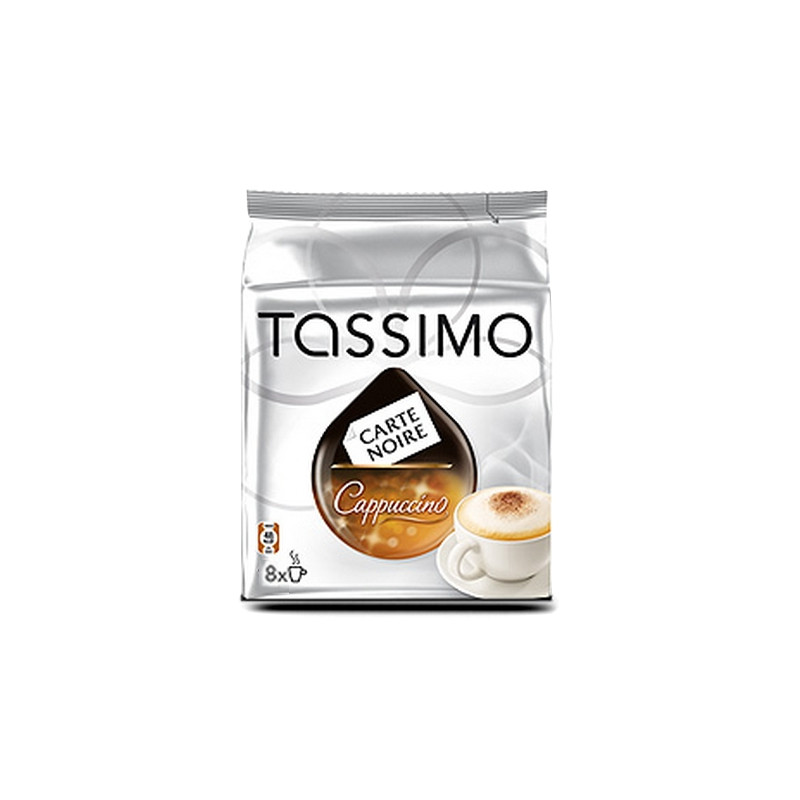 capsule tassimo carte noire cappuccino 8 boissons tassimo. Black Bedroom Furniture Sets. Home Design Ideas