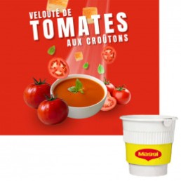 Potage Maggi Velouté Tomates aux Croûtons
