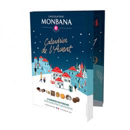 Calendrier de l'Avent Chocolat Monbana