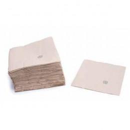 Lot de 50 serviettes en papier Bio Double épaisseur 20 x 20 cm