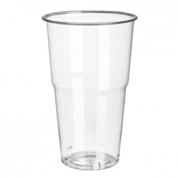 Gobelet verre Transparent PLA Compostable 22 cl - par 25