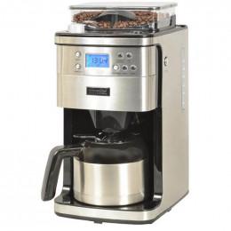 Machine à café filtre avec broyeur à grains - Programmable - 12 tasses - Kitchen Chef