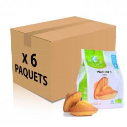 Biscuit Madeleine Bio La Vie Nature emballées individuellement - 9 Madeleines