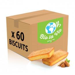 Biscuit en gros Financiers Bio La Vie emballés individuellement - 60 financiers