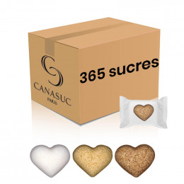 "Sucre Canasuc ""Coeur"" - 365 sucres"