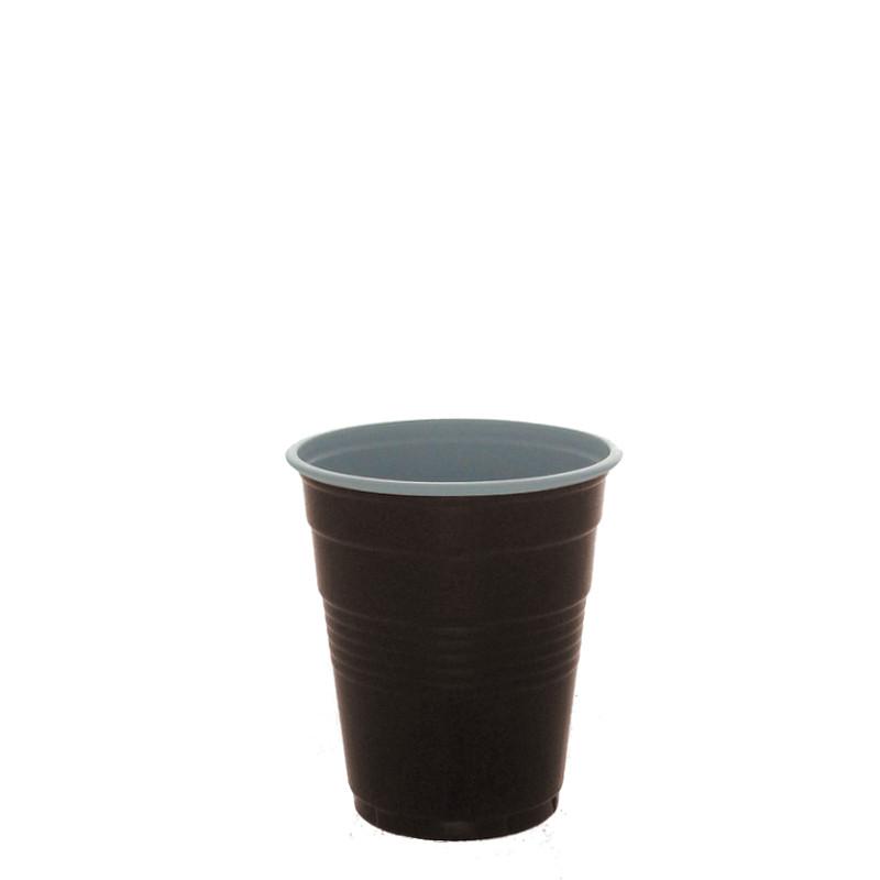 gobelet en gros en plastique bicolore 10 cl par 4200 coffee webstore. Black Bedroom Furniture Sets. Home Design Ideas