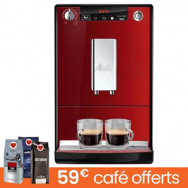 Machine à café en grains Melitta Caffeo Solo E950-222 - Noir