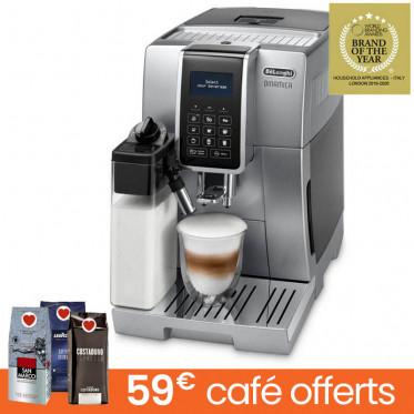 Machine à café en grains DeLonghi Dinamica FEB 3595.S - Silver