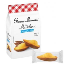 Madeleine Bonne Maman Chocolat au Lait - 10 madeleines emballées individuellement