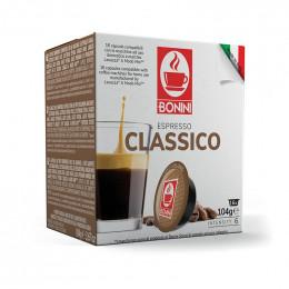 Capsules Lavazza A Modo Mio Compatible Café Bonini Espresso Classico - 16 capsules