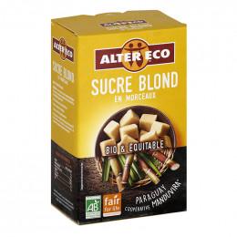Sucre Bio et Equitable Alter Eco Blond en morceaux - 500 gr